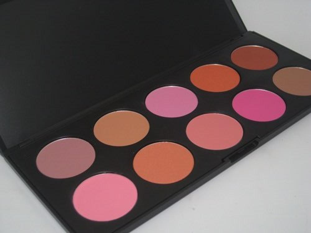 باليت بلاشر كوستال coastal scents 10 blush palette