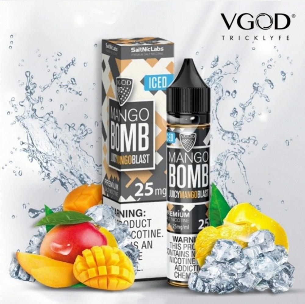نكهة مانجو ايس بومب سولت نيكوتين من فيقود vgod