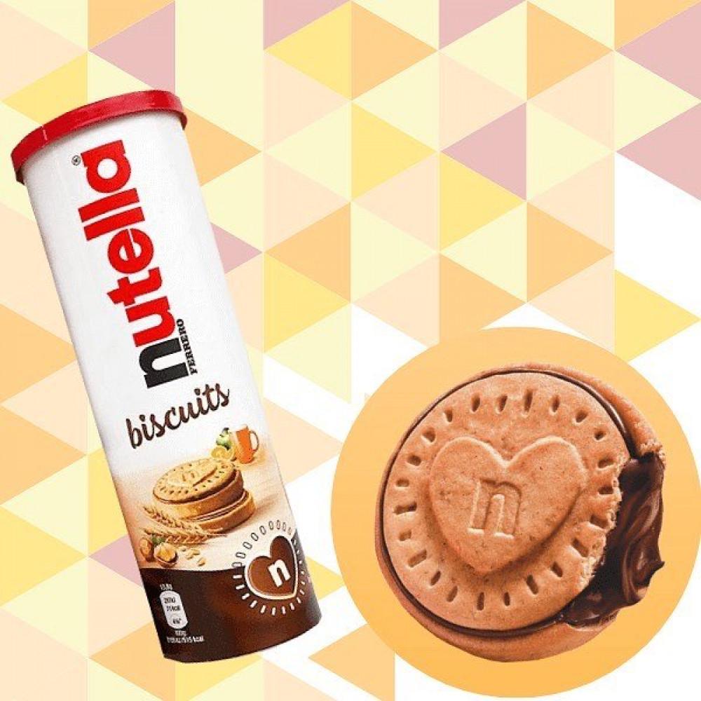 علبة تيوب بسكوت محشي نوتيلا منتج جديد حصري من ايطاليا الاصلي حجم وسط Candypark