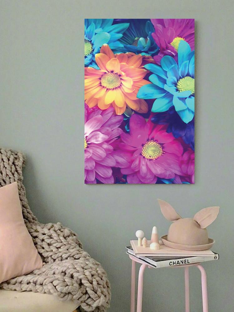 لوحة الأزهار خشب ام دي اف مقاس 40x60 سنتيمتر