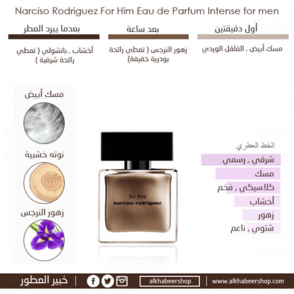 Narciso Rodriguez for Him Eau de Parfum 100ml خبير العطور