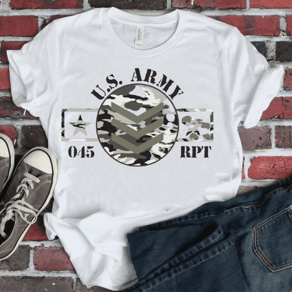 طباعة شعار الجيش الامريكي