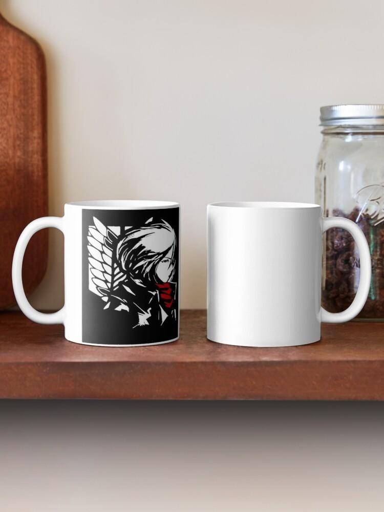 كوب قهوة هجوم العمالقة