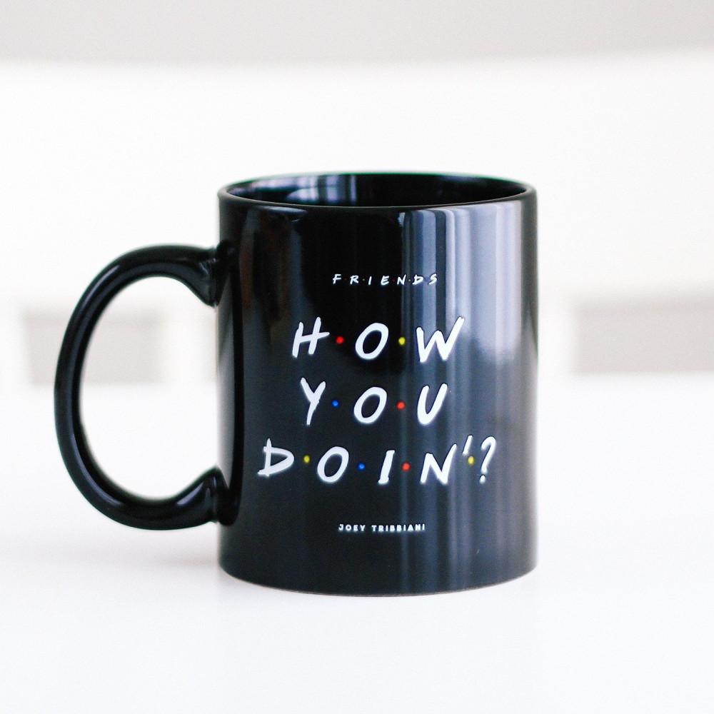 هدية رجالية هدايا نسائية كوب قهوة مسلسل فريندز هدية تخرج متجر هدايا