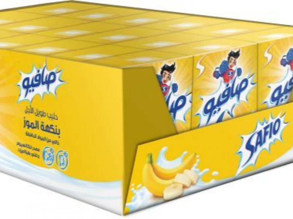 حليب صافيو موز 125 مل 18 حبة شامل الضريبه متاجر الشرق المواد الغذائية