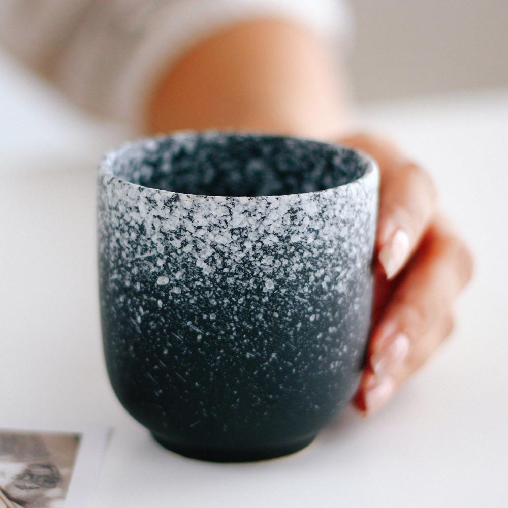 كوب فلات وايت كوب كورتادو كوب قهوة  أدوات القهوة المختصة كوب لاتيه