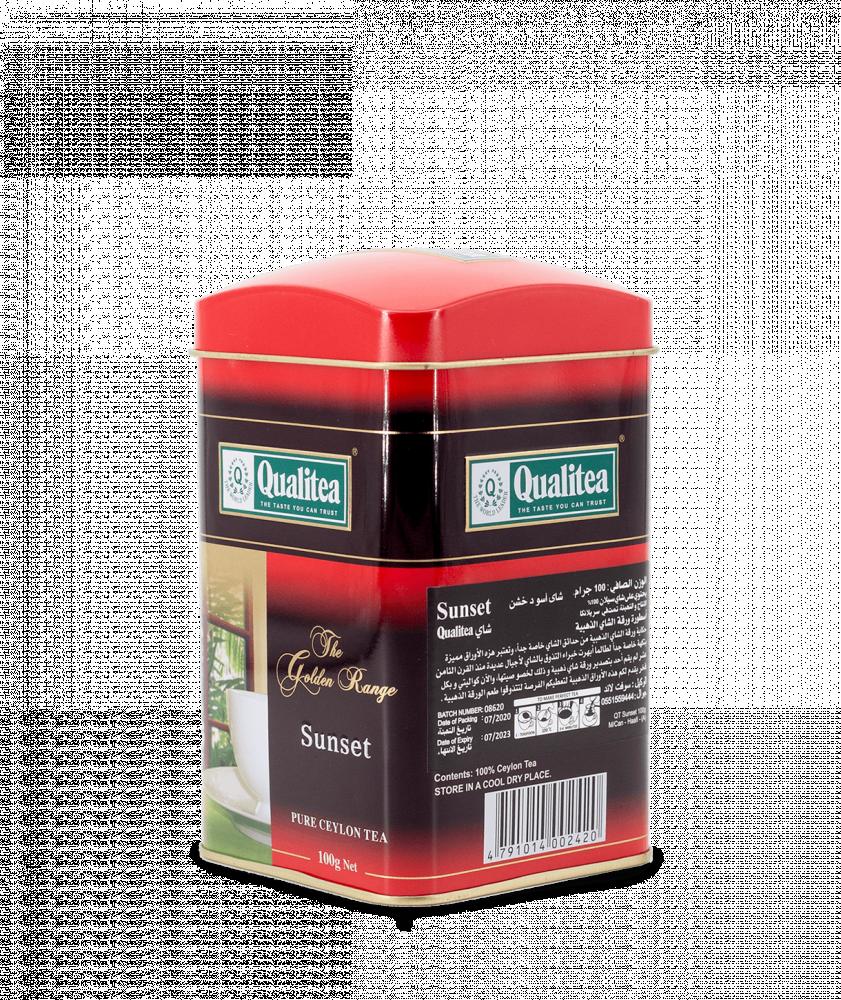 بياك-كوالتي-شاي-الغروب-اسود-خشن-معدن-شاي