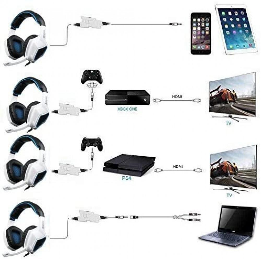 سماعات رأس للألعاب الإستريو السلكية  من سادز SA920