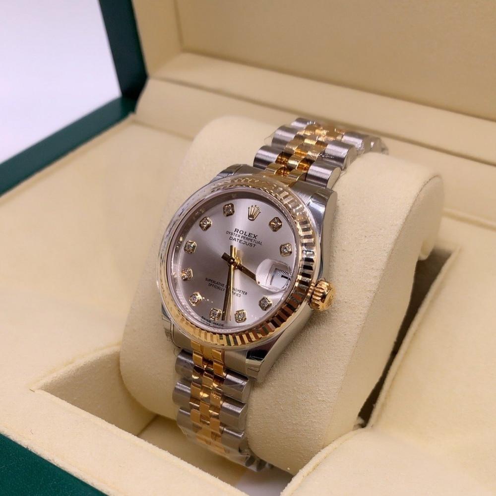 ساعة رولكس ديت جست الأصلية الفاخرة جديدة تماما 178273