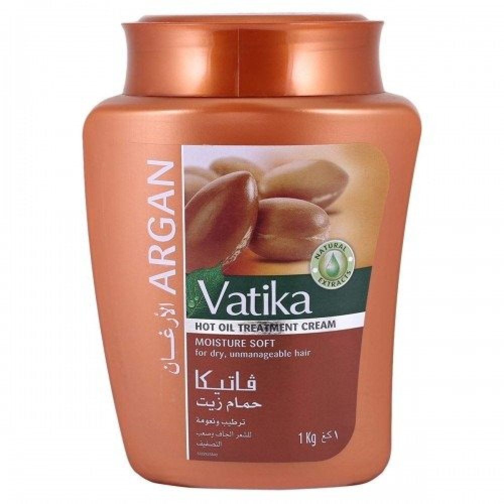 Vatika Argan Moisture Soft for Dry Unmanageale Hair 1000g متجر خبير ال