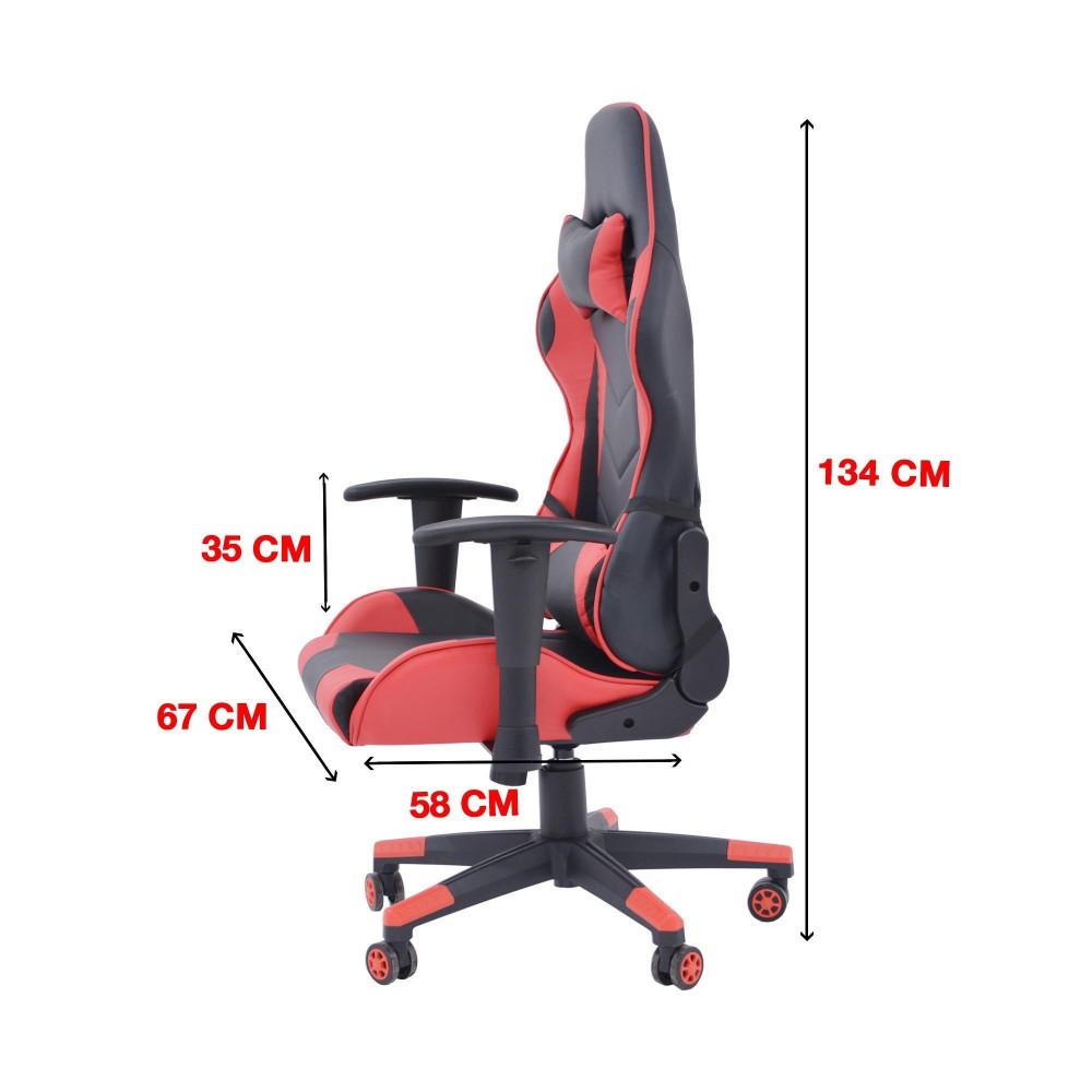 كرسي العاب احمر C-015-665-2 من كاما