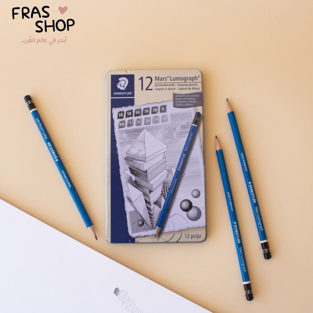 اقلام رصاص ستدلر 12 قلم