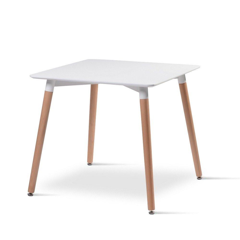 طاولة نيت هوم بيضاء من متجر مواسم بشكلها الحديث الذي يلائم اي مكان