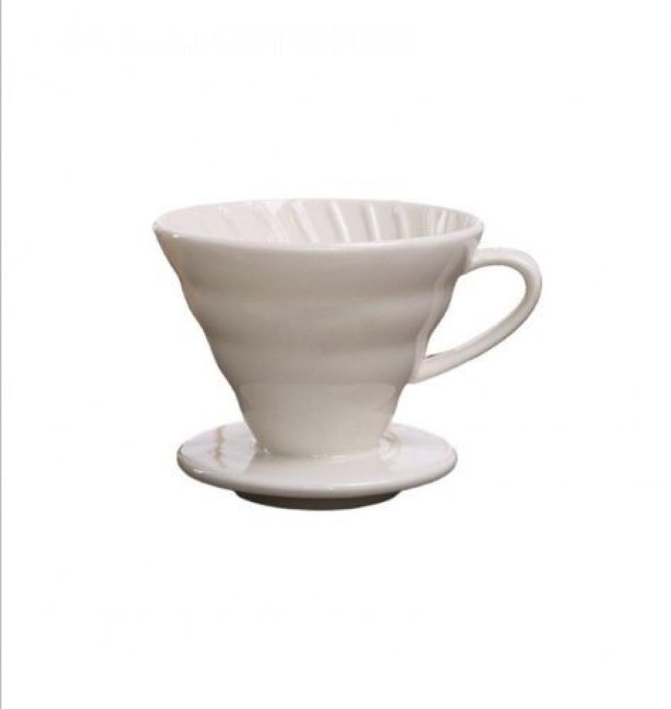قمع تقطير القهوة V60 سيراميك مقاس 01 متجر كوفي كلاود محامص ادوات تحضير