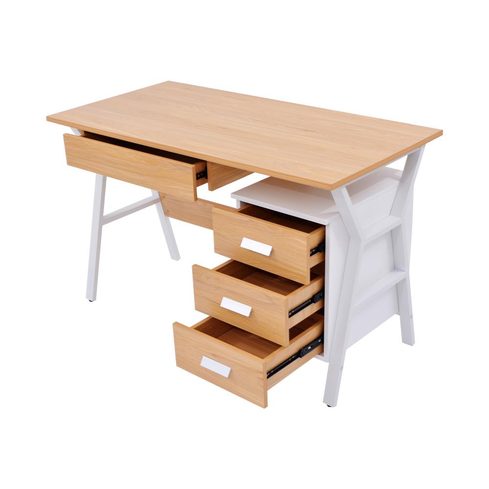 مكتب كاما 120 سم  خشبي 9614-120-B