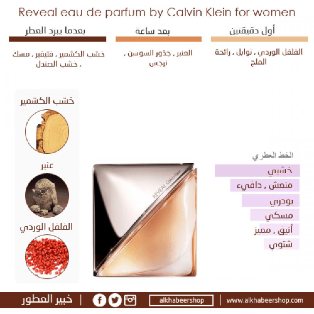 Calvin Klein Reveal for Women Eau de Parfum 100ml خبير العطور