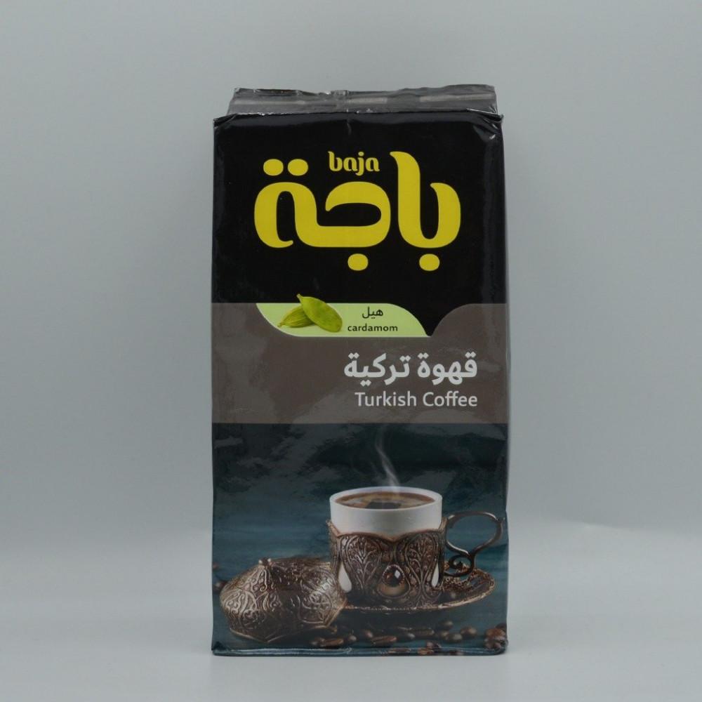باجة قهوة تركية مع هيل 400 جرام قهوتكم
