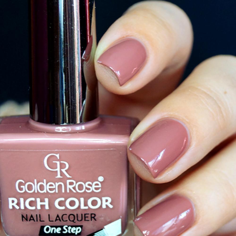 مناكير قولدن روز ريتش كلور  GOLDEN ROSE Rich Color Nail Lacquer 78