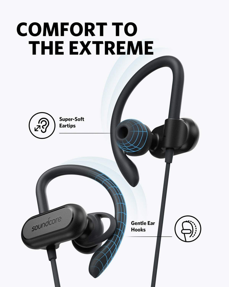 Wireless Bluetooth Headphones Soundcore Spirit X Sports Earphones by