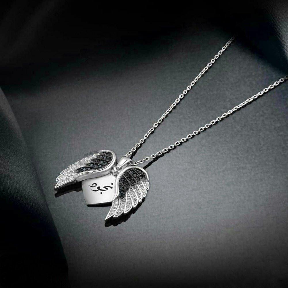 سلسال راقي من الفضة الخالصة