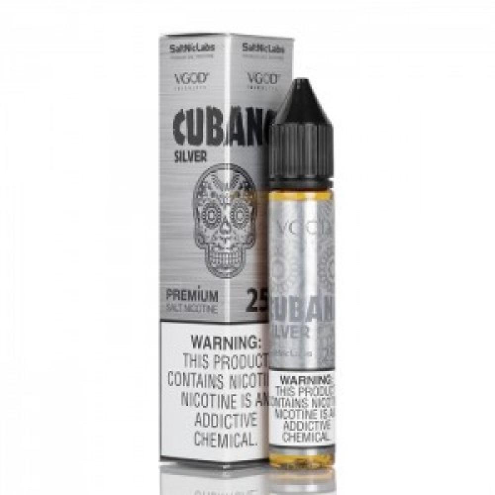 نكهه فيقود كوبانو سيلفر سولت نيكوتين VGOD CUBANO SILVER Salt