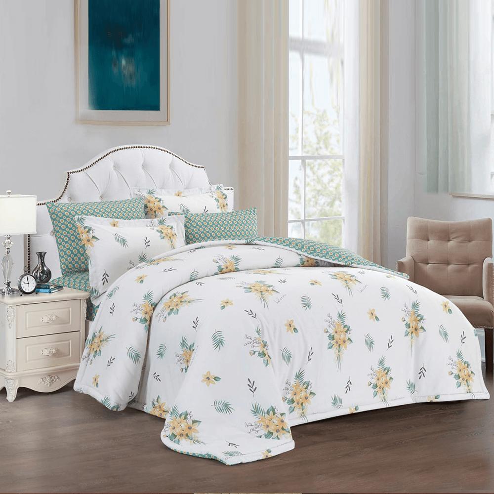 مفرش سرير صيفي مقاس نفرين - متجر مفارش ميلين