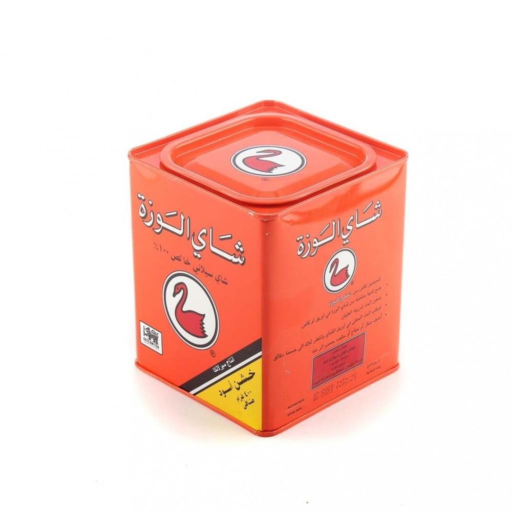 شاي الوزه اسود 400 جم علبه حديد