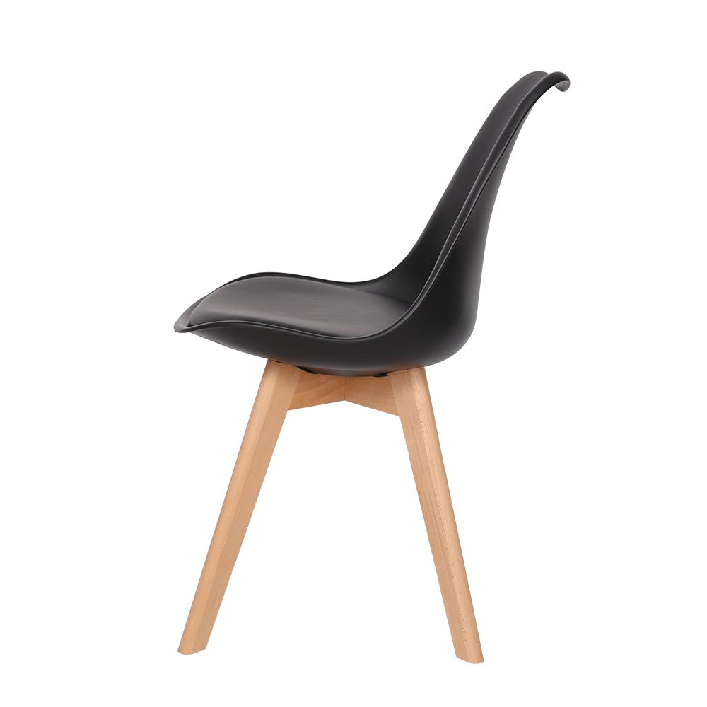 طقم كراسي أسود ماركة نيت هوم شكل أنيق ومميز لأجمل الكراسي في مواسم