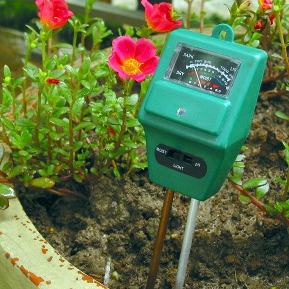 مقياس رطوبة وحموضة التربة