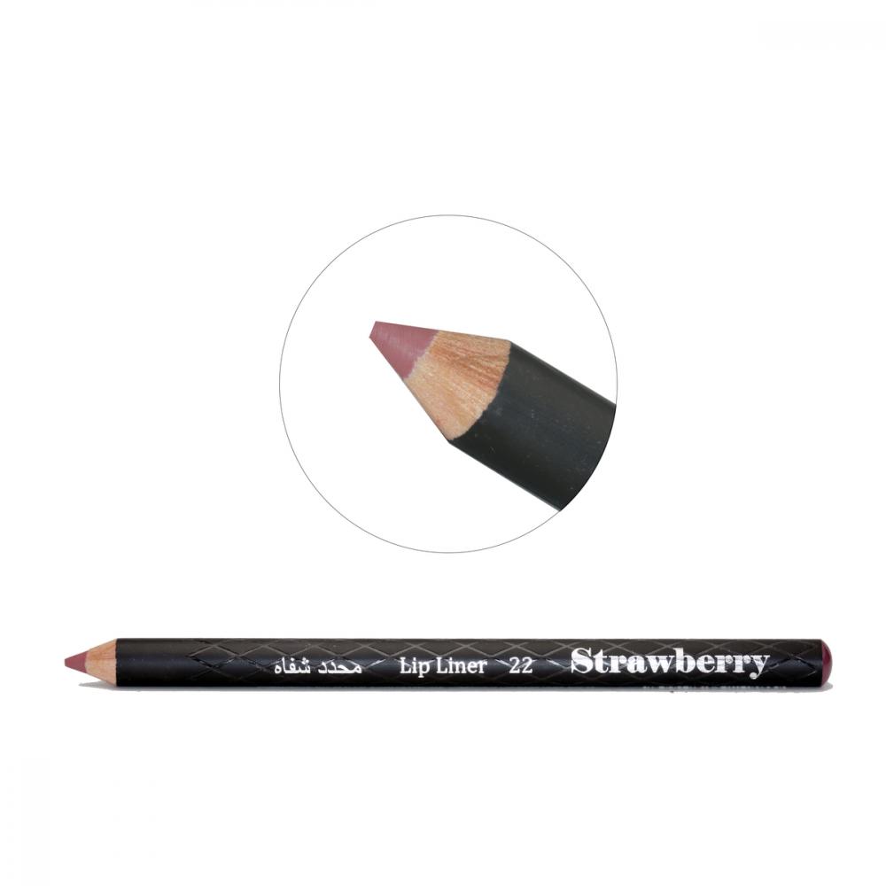 Strawberry  Lip Liner Pencil  No-22