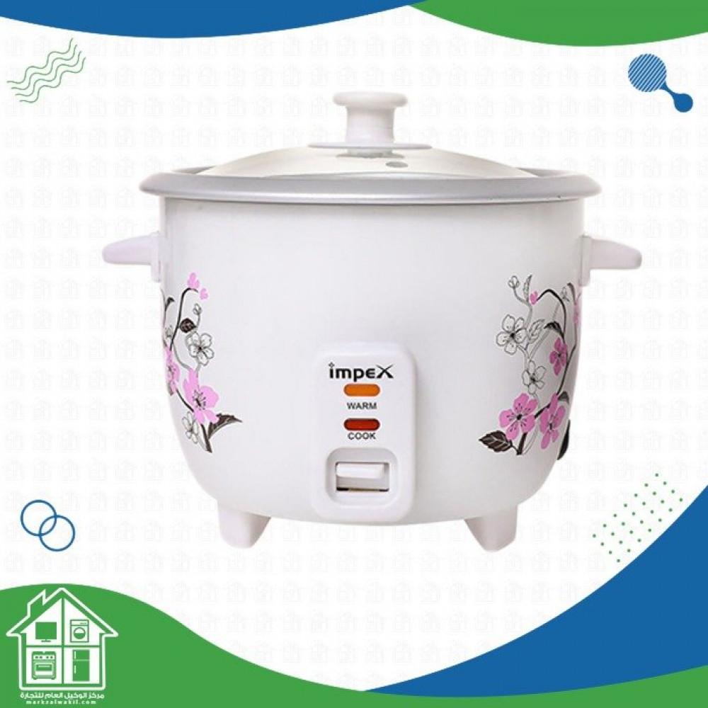 جهاز طهي أرز كهربائي 1 لتر 400 وات RC 2801 أبيض