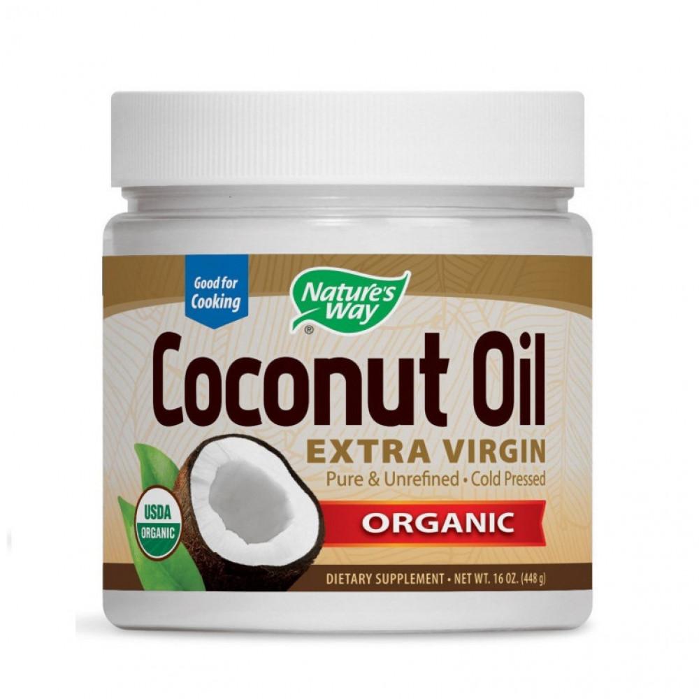 زيت جوز الهند العضوي  قطفة اولى من ناو 444 غ  Now Organic Coconut Oil