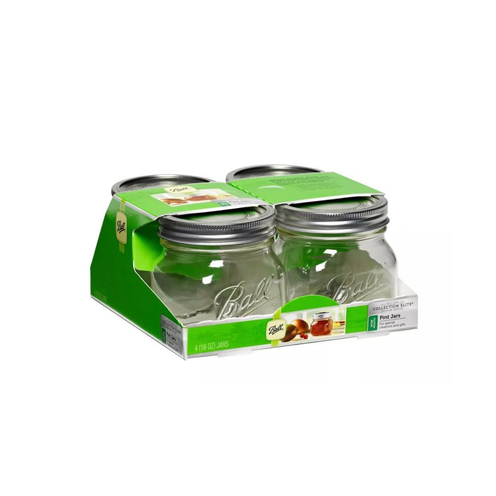 مايسون جار طريقة تخزين الأطعمة والحبوب أفكار لتنظيم رفوف المطبخ متجر