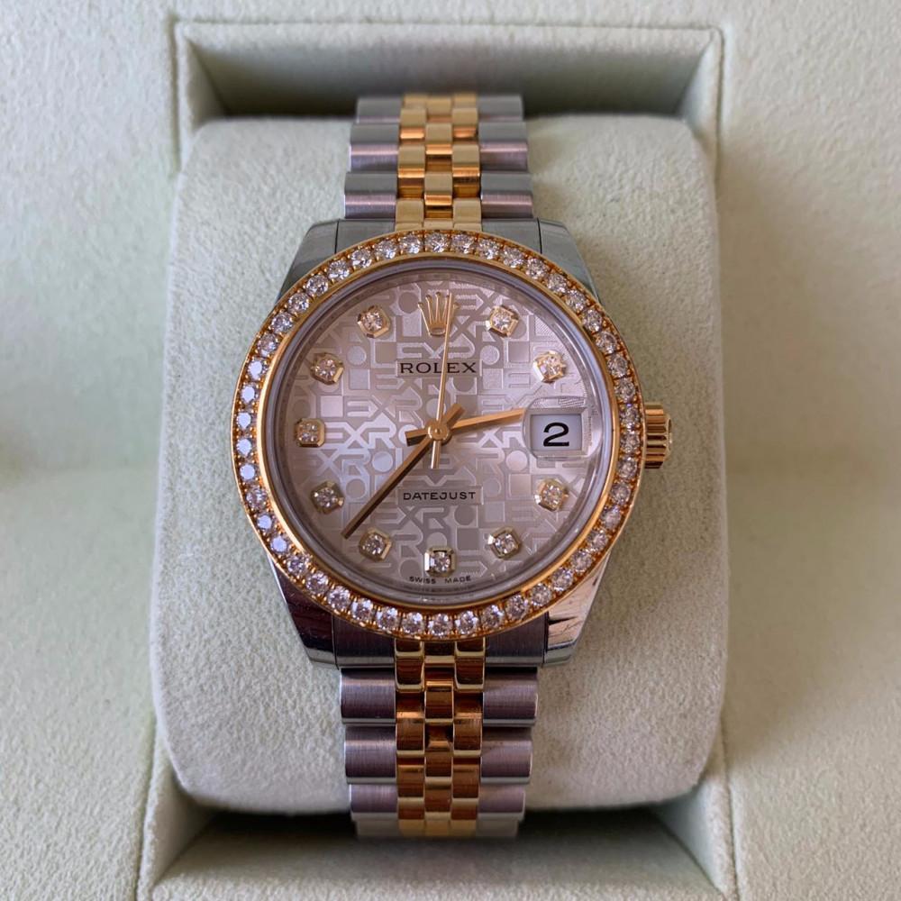 ساعة رولكس ديت جست الاصلية الثمينة المستعملة
