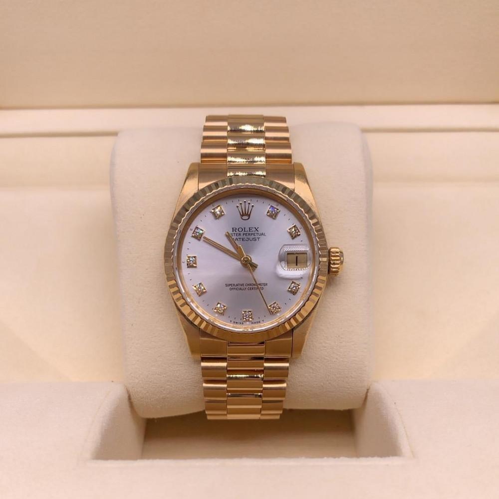ساعة Rolex ديت جست بريزيدنت الأصلية