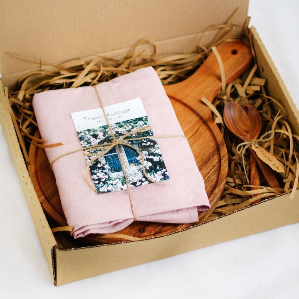 هدايا جاهزة هدايا شخصية صندوق هدية هدايا هدية منزل مبارك خشب Acacia
