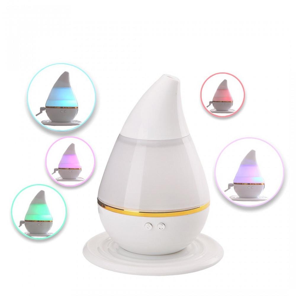 فواحة وملطف هواء للروائح العطرية ب7 ألوان يعمل بالموجات فوق الصوتية عن