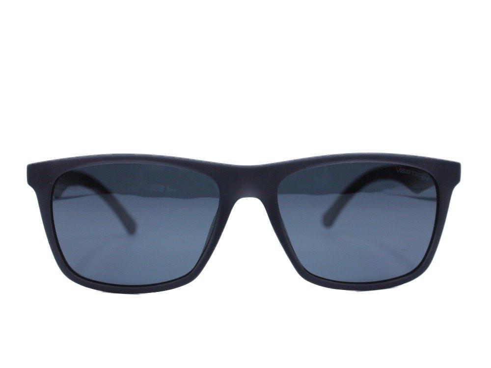 نظاره شمسية كلاسيكية من ماركة VESTERN  لون العدسة اسود رجالية فاخرة