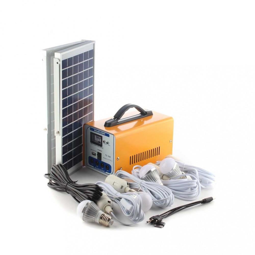 نظام طاقة شمسية 4 لمبات