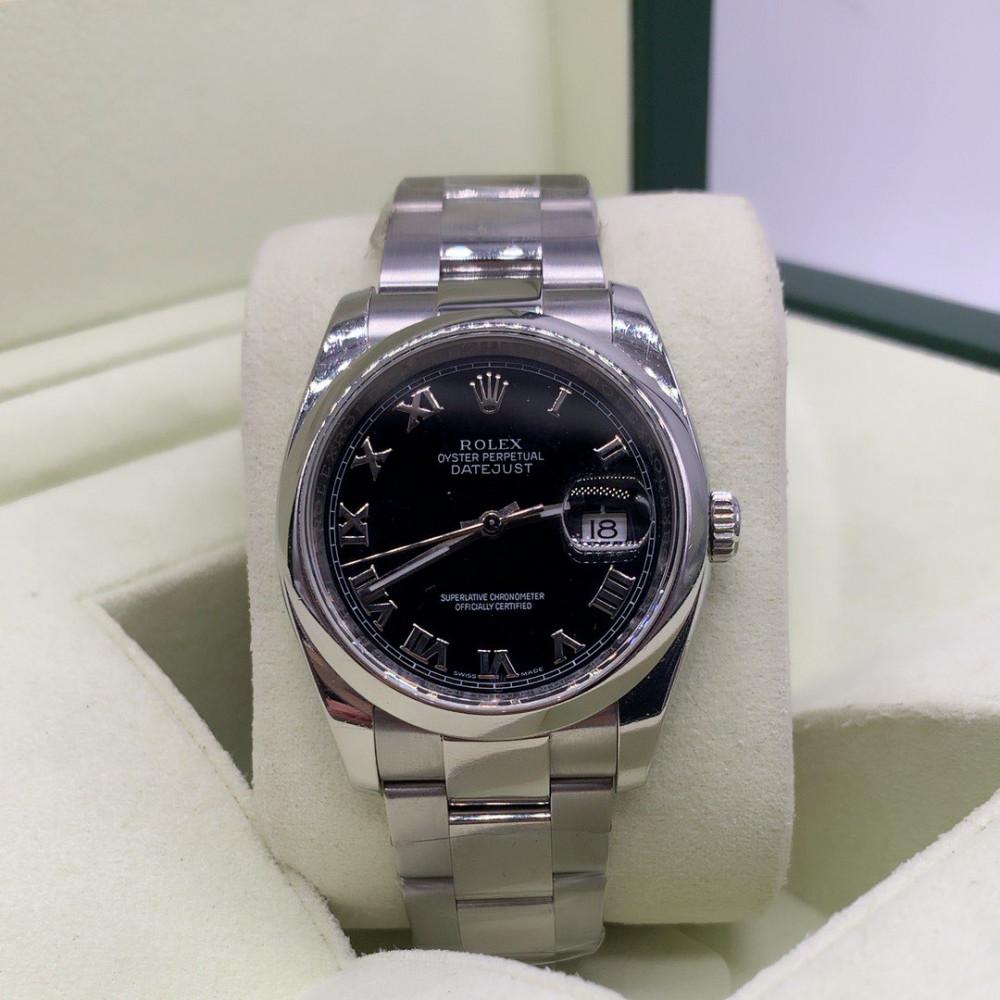 ساعة رولكس ديت جست رجالي الأصلية مستعملة