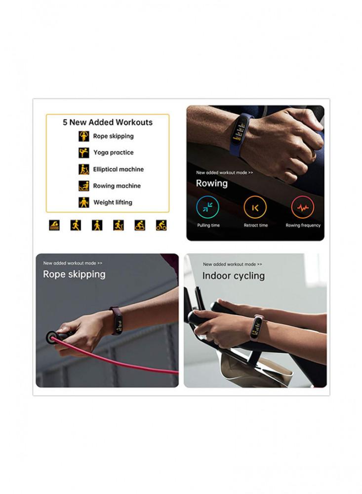 سوار اللياقة البدنية الجديد Xiaomi Mi  Band 6  مي باند