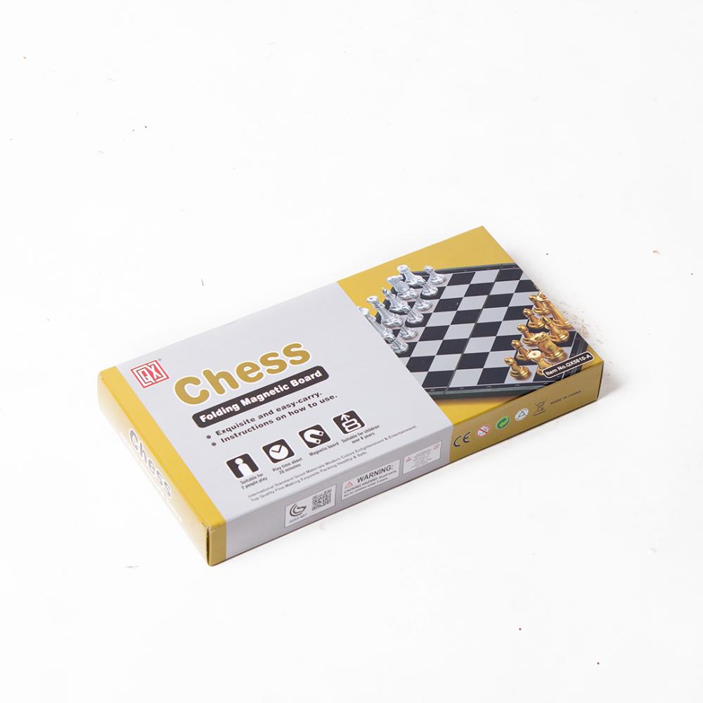 شطرنج أصلية مغناطيس - حجم كبير