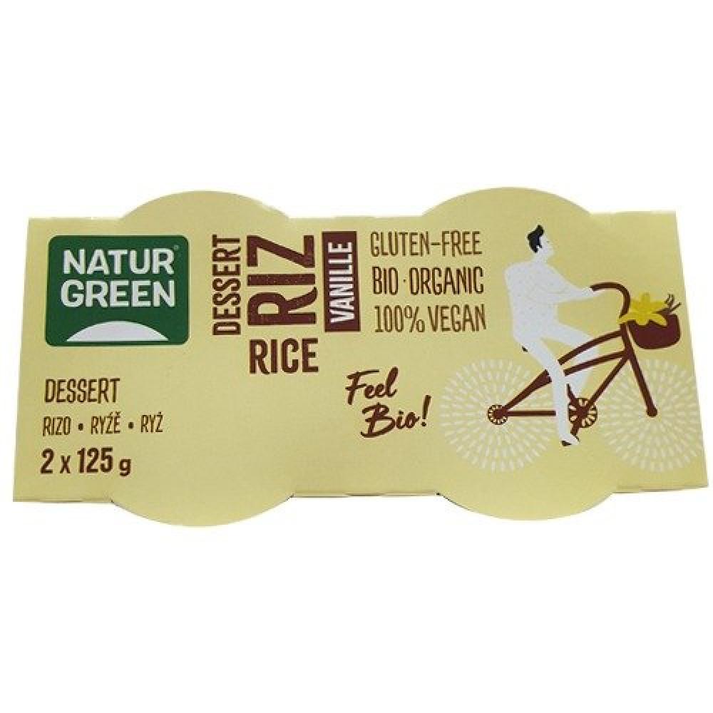 حلى الأرز بالفانيلا العضوي 250 جرام