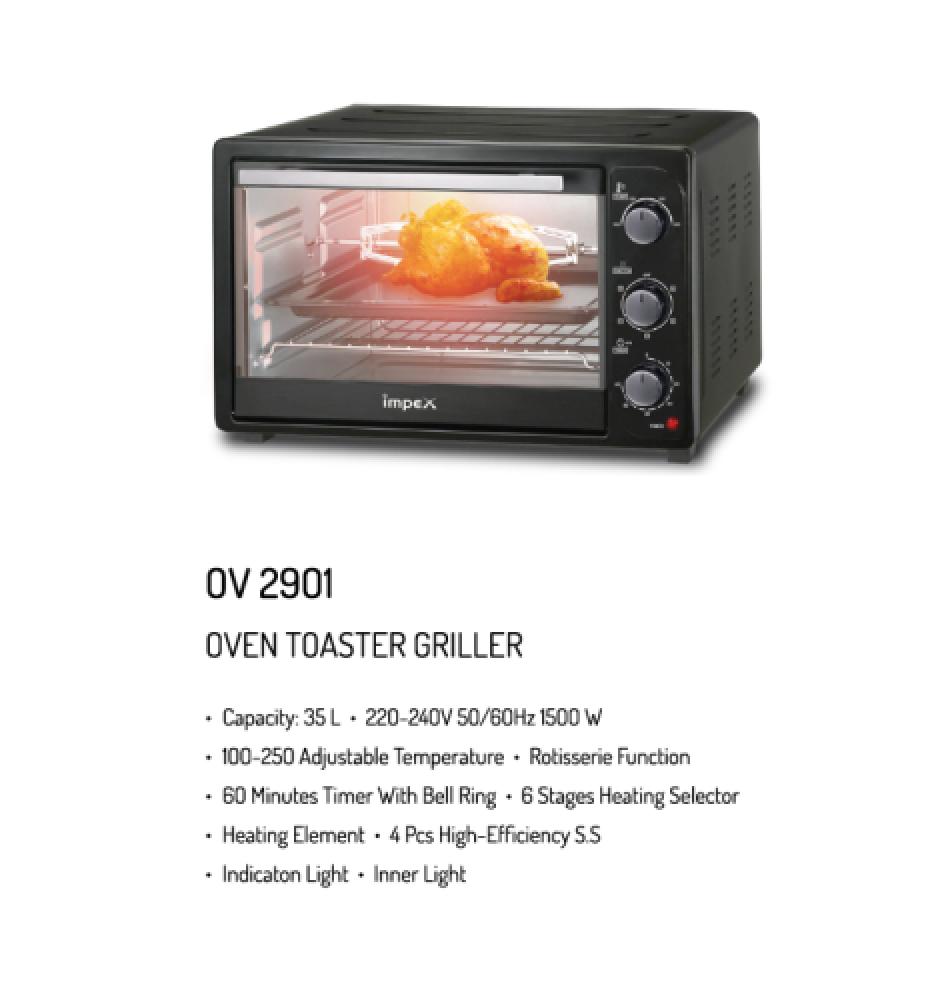 فرن امبكس 35 لتر Impex Electric Oven OV 2901