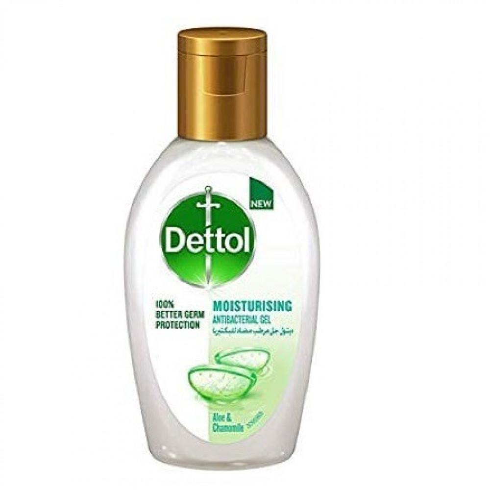 جل مرطب مضاد للبكتيريا من ديتول نكهات 50مل  Dettol Antibacterial Gel 5