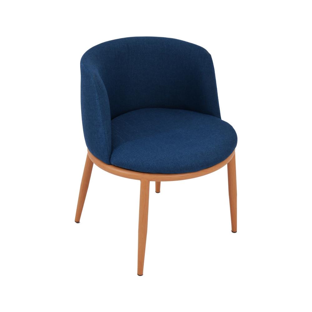 كرسي ازرق قماش C-KL-Y01BLUE من كاما