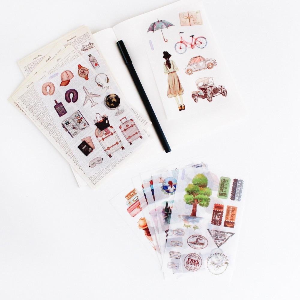 ملصقات ستيكرات لابتوب أجندة دفاتر فستان دراجة سيارة فنتج متجر قرطاسية