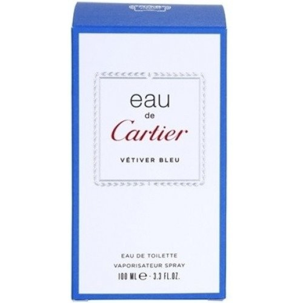 Cartier Eau de Cartier Vetiver Bleu Toilette Sample 1-5ml خبير العطور
