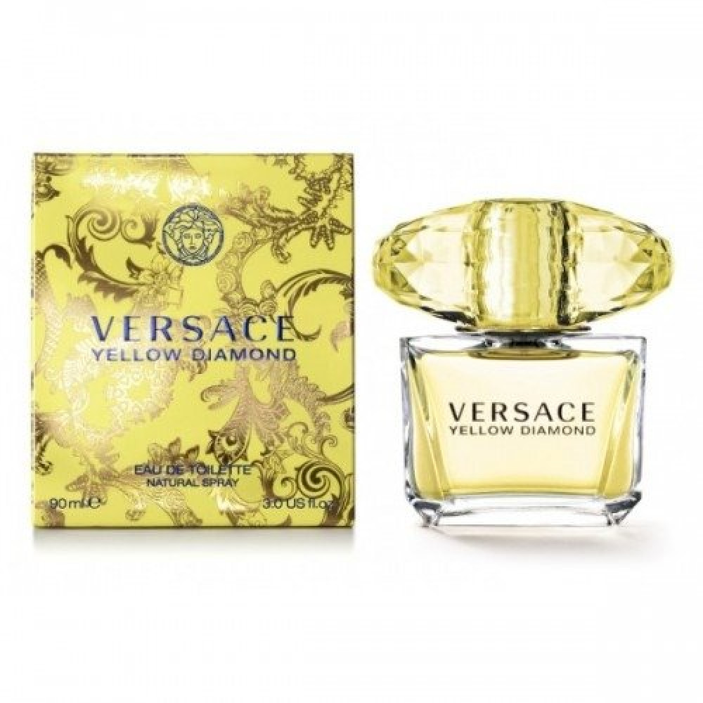 Versace Yellow Diamond Eau de Toilette 50ml خبير العطور