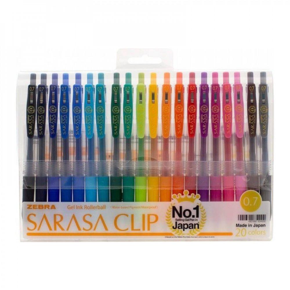 SARASA CLIP, ZEBRA, Pens, اقلام جيل , ساراسا, زيبرا, قرطاسية